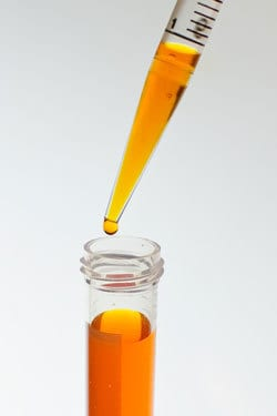 test tube chemicals