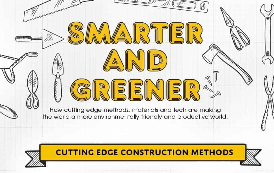 Cutting Edge Green Building Methods and Materials (infographic)