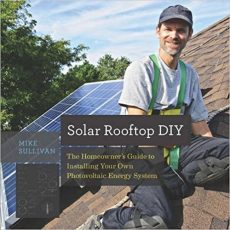 Front cover of Solar Rooftop DIY by Mike Sullivan - Grid-tied and off-grid solar systems