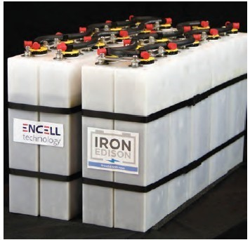 Battery bank of 10 batteries - Grid-tied and off-grid solar systems