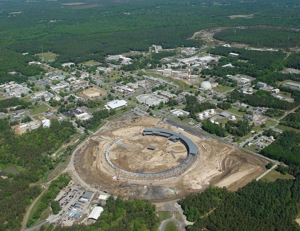 Aerial view of Brookhaven National Laboratory in the U.S. - aerial-brookhaven-national-laboratory