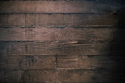 Aged brown wood - Green construction